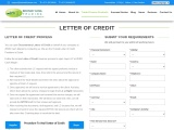 Trusted Letter of Credit Providers – LC at Sight