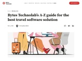 Bytes Technolab's A-Z Guide For The Best Travel Software Solution