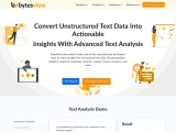 Convert Unstructured Text Data Into Actionable Insights With Advanced Text Analysis