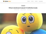 What is Sentiment Analysis? A Definitive Guide