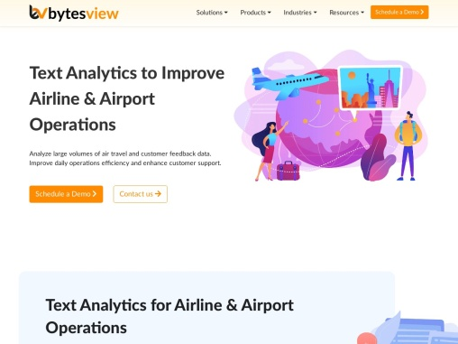 Text Analytics to Improve Airline & Airport Operations
