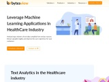 Text Analytics in the Healthcare industry