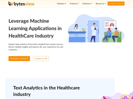 Leverage Machine Learning Applications in HealthCare Industry