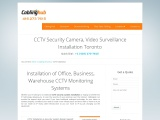 CCTV Security Camera Installation Toronto