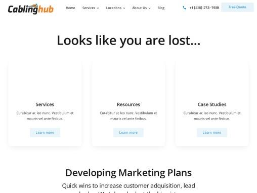 CCTV Installation Services Toronto | CablingHub