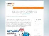 Get Network Installation Services From CablingHub