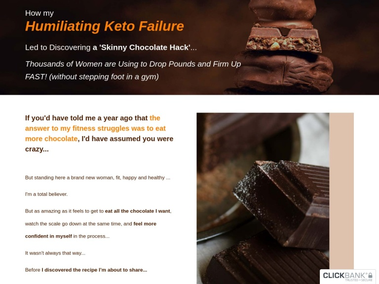 CacaoFit screenshot
