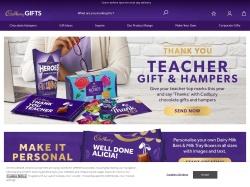 Cadbury Gifts Direct screenshot