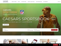 Caesars Entertainment screenshot