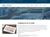 Get Best Auditing Service in India