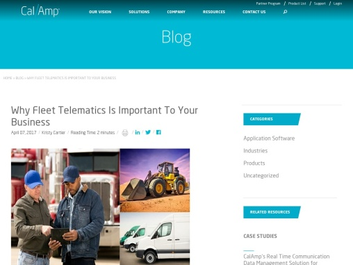 Why Fleet Telematics Is Important To Your Business