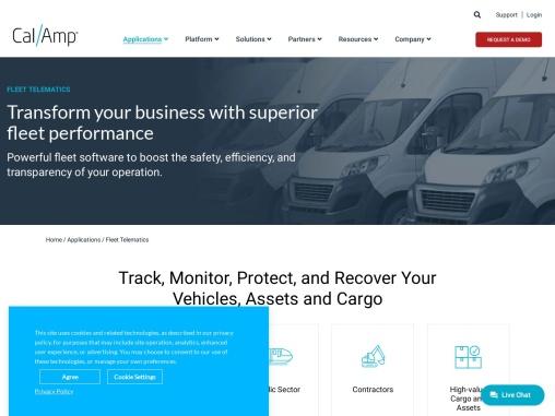 Company Vehicle Tracking – CalAmp