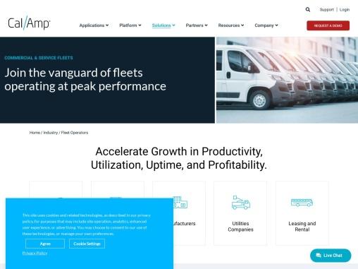 Fleet GPS Management –  CalAmp