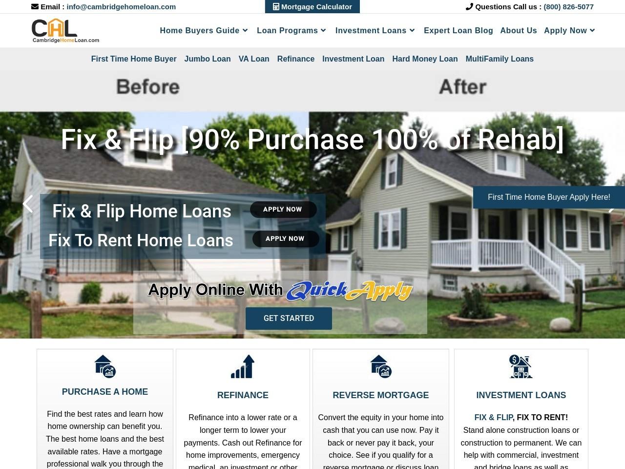 VA Home Loan Mortgage Rates Online