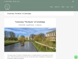 CAMBRIDGE PUNTING IN THE UNITED KINGDOM