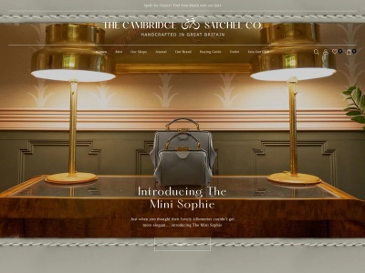 英國The Cambridge Satchel Company官網