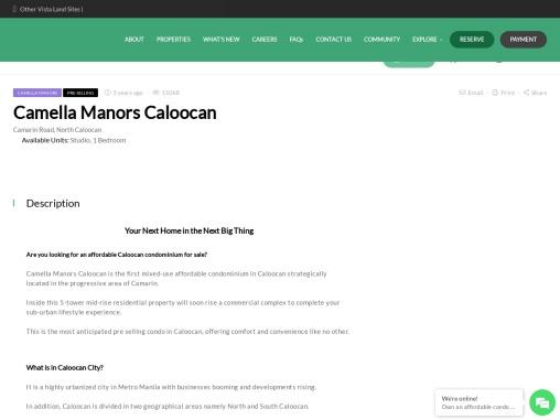 Condo in Caloocan | Camella Manors Caloocan
