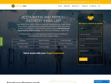 New Accounting and Payroll Industry Email List | Accounting Marketing Data