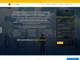 New Economic Programs Industry Email List |Economic Programs Contact Database |USA