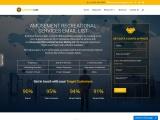 Top Amusement Recreational services Mailing List Database  USA