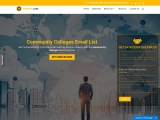 New Community Colleges Email List | Community College Mailing Addresses |USA