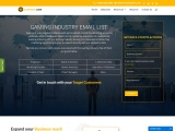 Top Gaming Industry Email List | Gaming Industry database