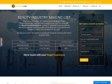 Beauty Industry Mailing List| Industries Database -USA