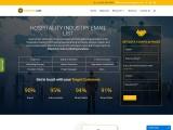 Best Hospitality Industry Email List   Hospitality Mailing Database  USA