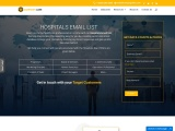 USA Top Hospitals Email List| Hospital Mailing Database Providers