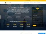 New Media Industry Email List | Media Industry B2B Data Providers