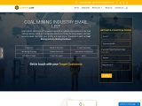 New Coal Mining Industry Email List | Coal Industry Mailing Database |USA