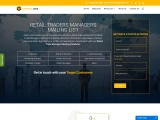 New Retail Trade Manager's Mailing List| Contact Database Providers