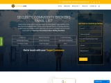Top Security, Commodity Brokers Email List| Commodity Broker Database