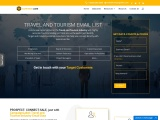 Best Travel & Tourism Industry Email List| Industries Database