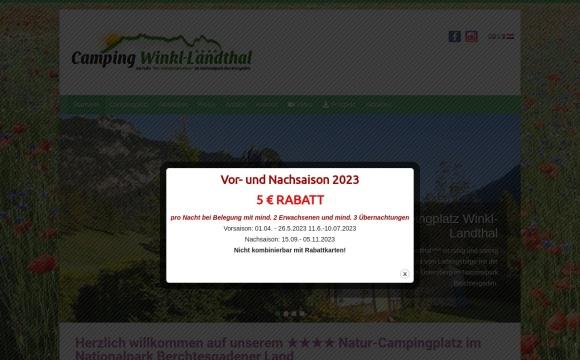 Campingplatz Winkl-Landthal