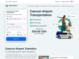 Cancun Airport Transportation & Cancun Airport Transfers