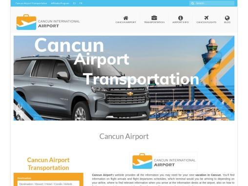 Cancun International Airport Information