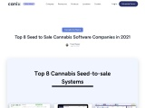 Top 8 Seed to Sale Cannabis Software Companies in 2021 | Canix