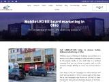 Mobile LED Billboard marketing in Ohio