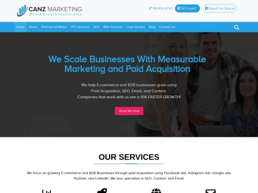 Canz Marketing – Where Growth Accelerates