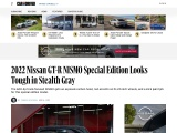 2022 Nissan GT-R NISMO Special Edition Looks Tough in Stealth Gray
