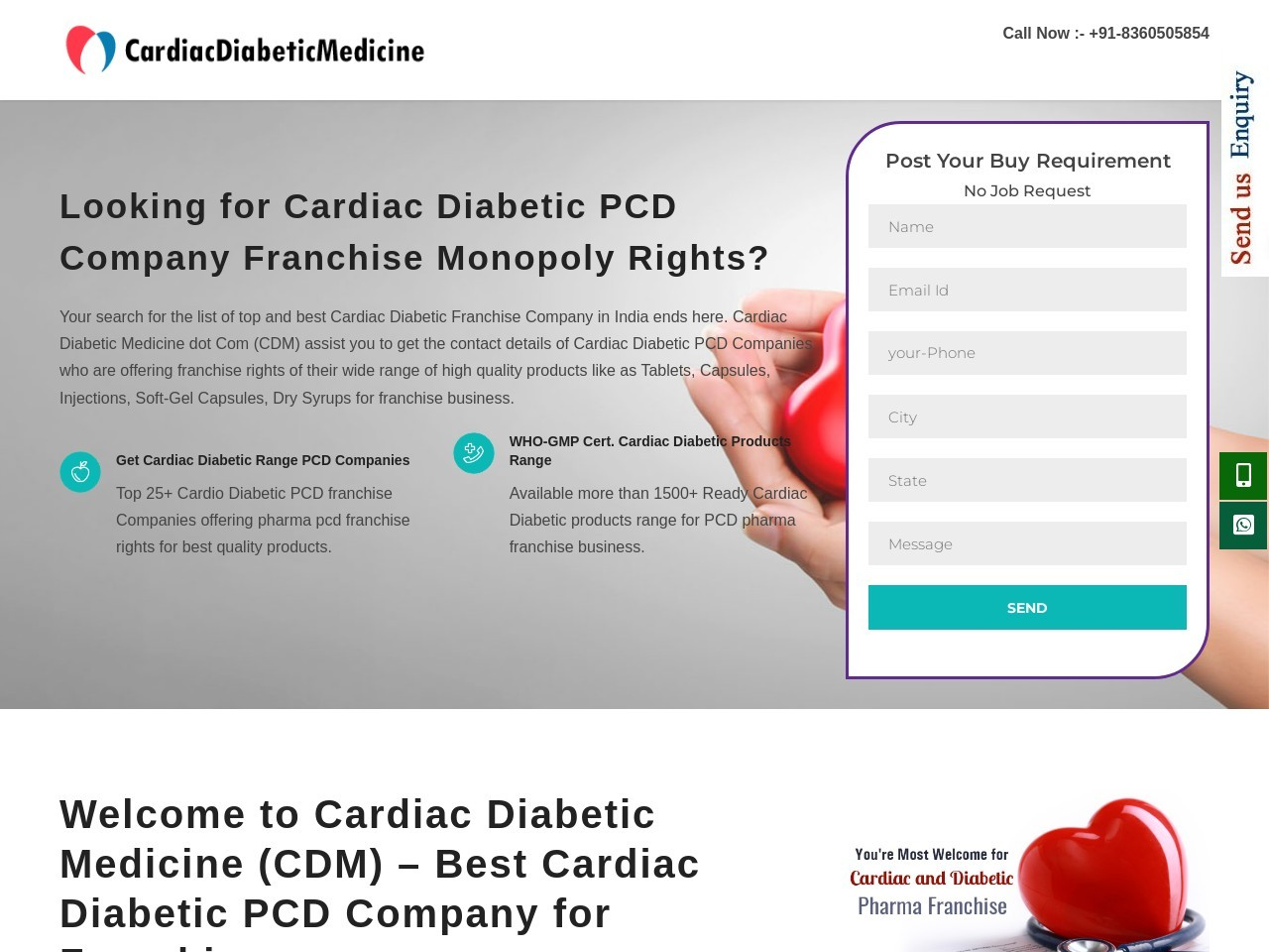 CardiacandDiabeticPcd Company in Gujarat