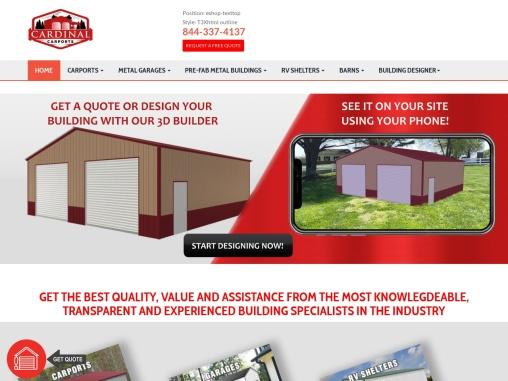 Regular Roof Carports- Regular Style Metal Carports For Sale