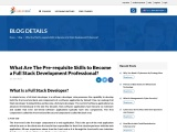 Know The Pre-requisite Skills For Full Stack Development Professional Certification