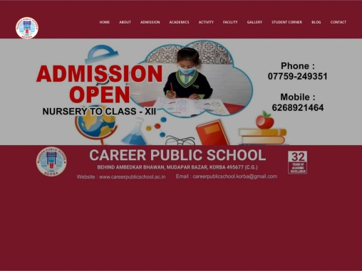 best high secondary school in korba