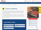 Amaron Car Battery Online – Buy Amaron Car Battery at Low Prices