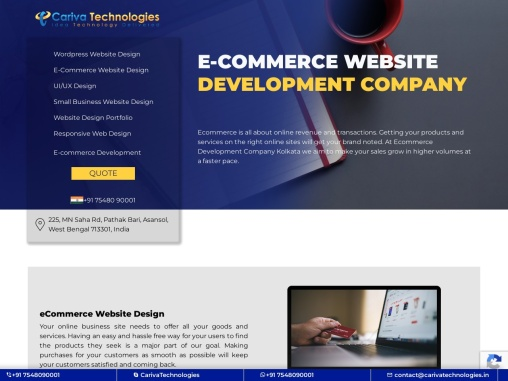 Ecommerce Development Company Kolkata | Asansol