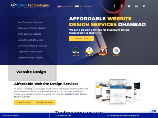 Affordable Website Design Services Dhanbad