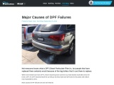 What are the Causes of DPF Failure Really?