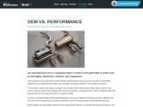 Performance Parts: OEM or Aftermarket?